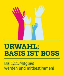 Link: Grüne Urwahl: Basis ist Boss